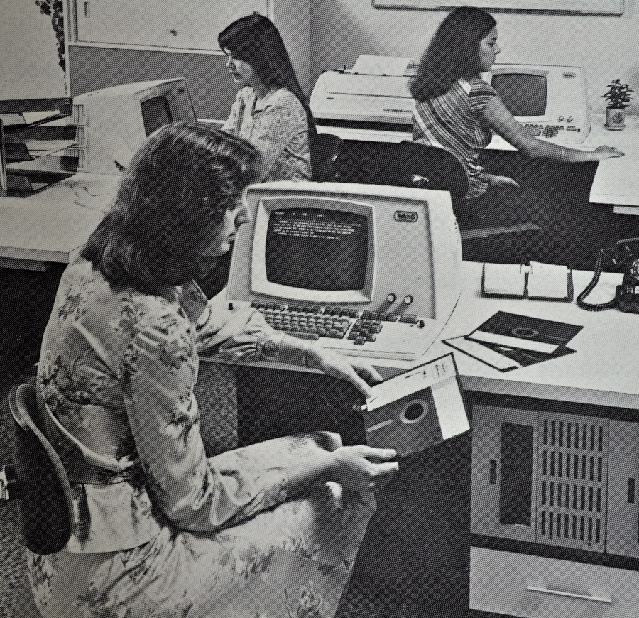Female phototypesetters